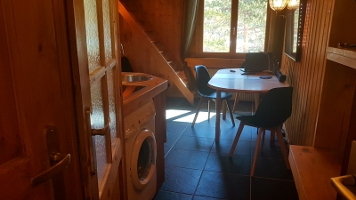 Appartement neuf ambiance chalet sur station