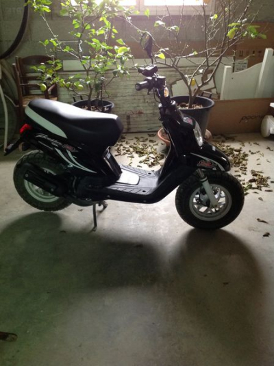 Scooter Booster MBK