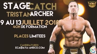 STAGE DE CATCH TRISTAN ARCHER