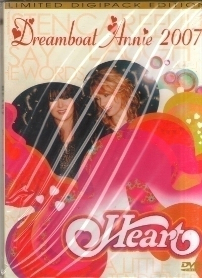 DVD Heart Dreamboat Annie Live 2007