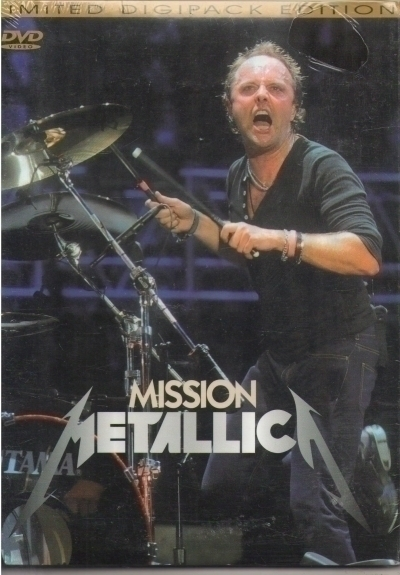 DVD Metallica Mission Live 2008 Import