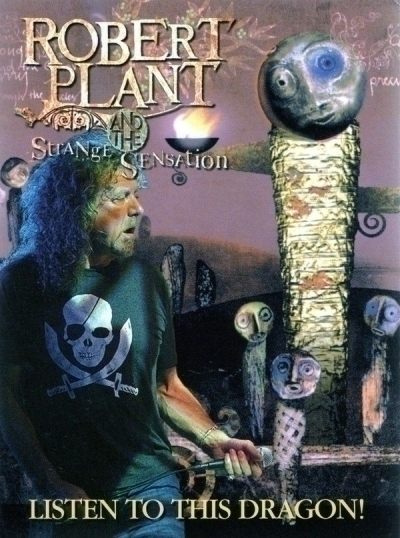 DVD Robert Plant:& The Strange Sensation Listen To This Dragon! Live 2007/2008